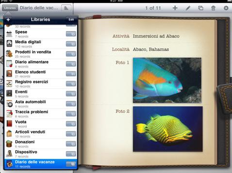 Bento per iPad