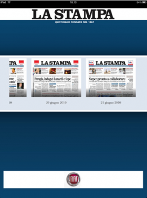 La Stampa di Torino per iPad
