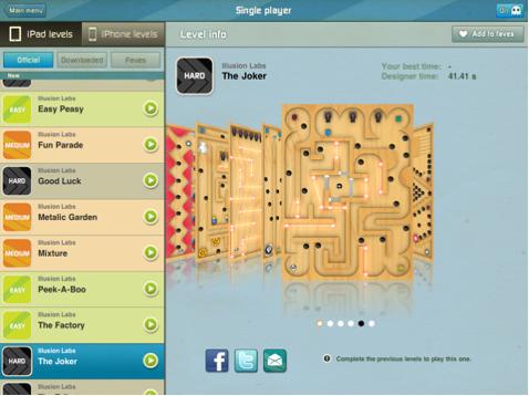 Labyrinth 2 HD per iPad