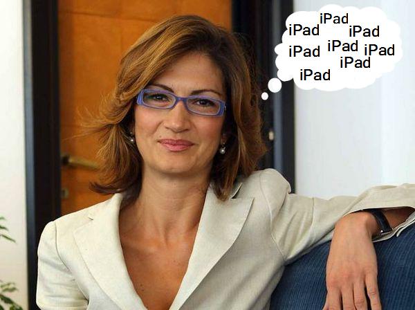 Gelmini sull'iPad