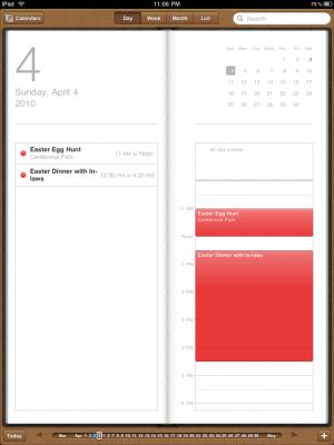 iCal per Apple iPad