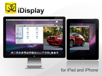 iDisplay per Apple iPad
