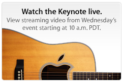Evento Apple in Streaming