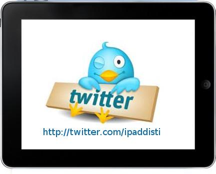 App Twitter per iPad
