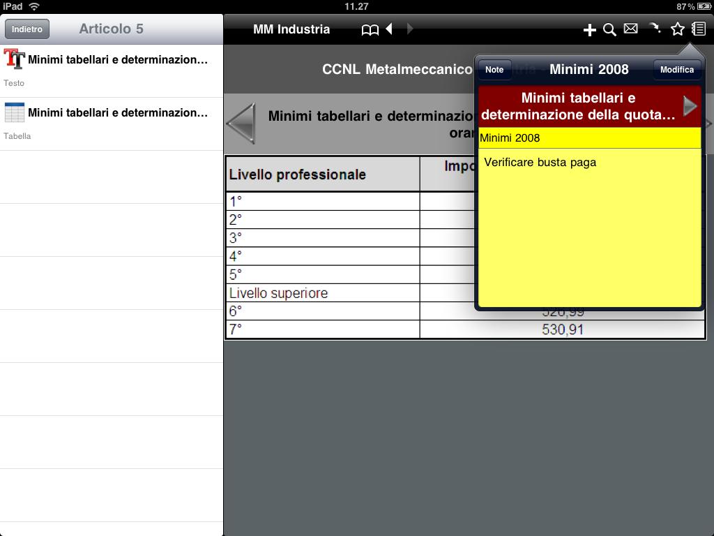 iCCNL HD per Apple iPad