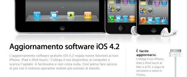 iOS 4.2 per iPad