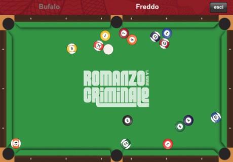 Romanzo criminale su iPad