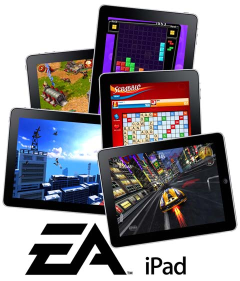 EA Games per iPad