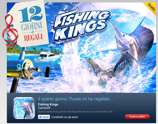 Fishing kings per iPad