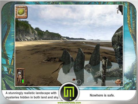Screenshot il ritorno all'isola misteriosa