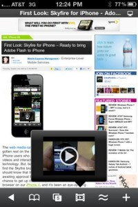 Visualizzare Flash su iPad con Skyfire