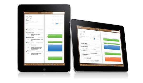 Calendario su Apple iPad