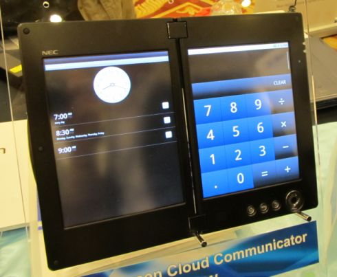 Tablet NEC Android Cloud Communicator