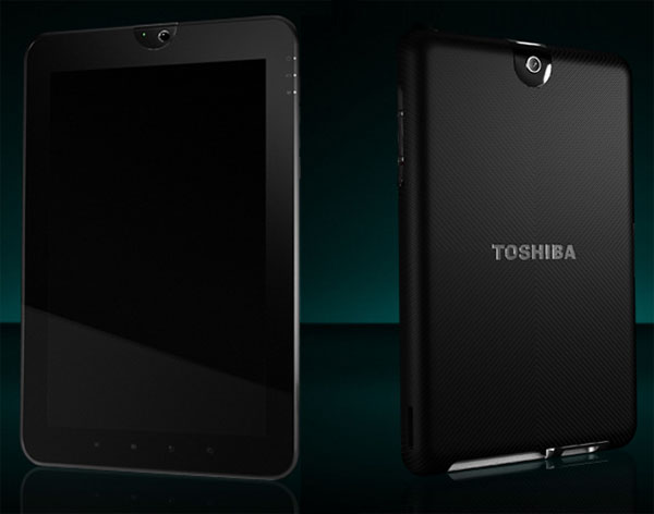 Tablet Toshiba con Android 3.0