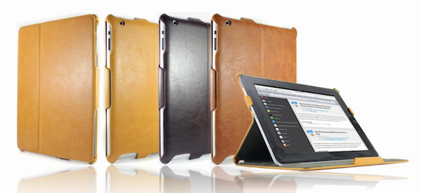Custodia in pelle per iPad 2