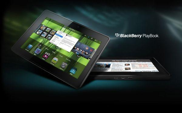 Blackberry Playbook arriva ad aprile a 499 euro