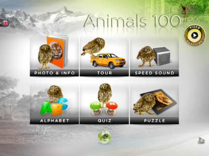 Animals 100 per iPad