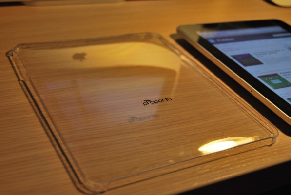 Custodia Crystal Proporta per iPad Apple