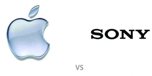 apple vs sony