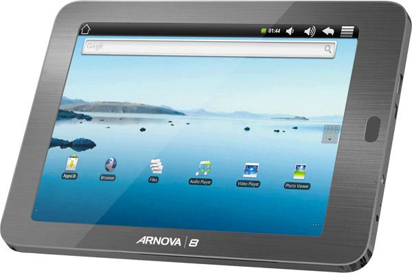 Archos Arnova 7, 8 e 10: nuovi tablet Android a partire da 99 euro