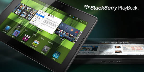 Blackberry Playbook supporterà anche le reti 4G LTE e HSPA+