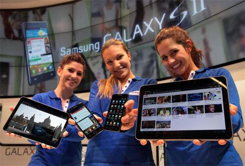 Foto Samsung Galaxy Tab II
