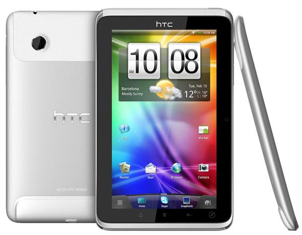 HTC Flyer disponibile in aprile, ufficiale