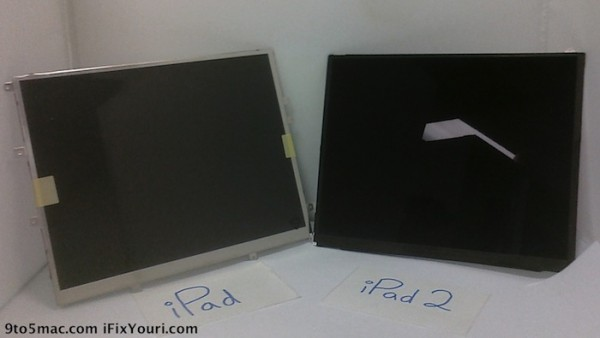 ipad 2 display confronto ipad
