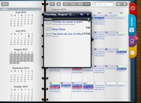 Pocket Informant HD per iPad
