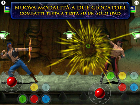 Ultimate Mortal Kombat 3 per iPad