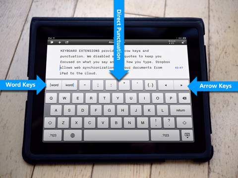 iA Writer per Apple iPad
