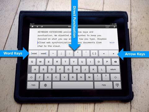 iA Writer per Apple iPad
