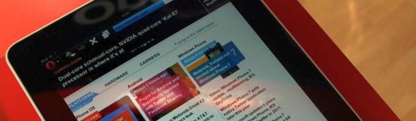 Browser Opera Mobile per iPad