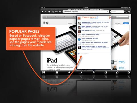 Aggiornamento Skyfire per iPad Apple