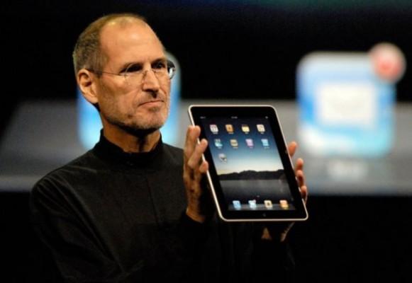 Steve Jobs presenta Apple iPad