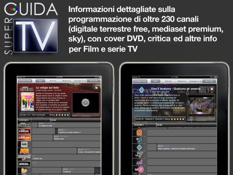 super guidatv per iPad