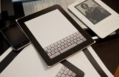 iPad finto