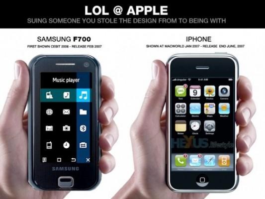 Samsung denuncia Apple anche in USA