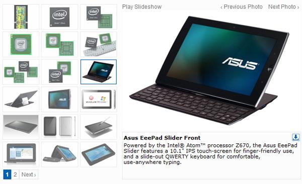 ASUS Eee Pad Slider arriva a settembre in Italia con nuovo hardware