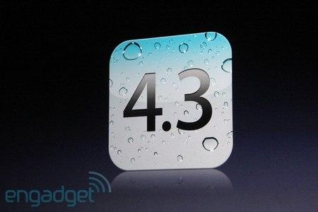 Apple rilascia l'aggiornamento del firmware iOS 4.3.2
