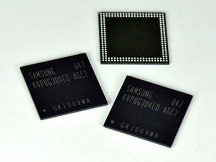Samsung: nuovi chip di memoria RAM per smartphone e tablet PC
