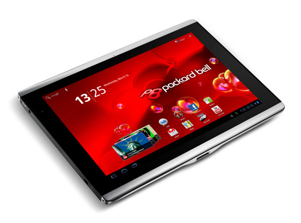 Packard Bell Liberty Tab è il nuovo tablet con Honeycomb e Tegra 2
