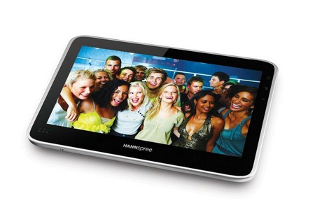 Tre nuovi tablet Android entro il 2011 da Hannspree