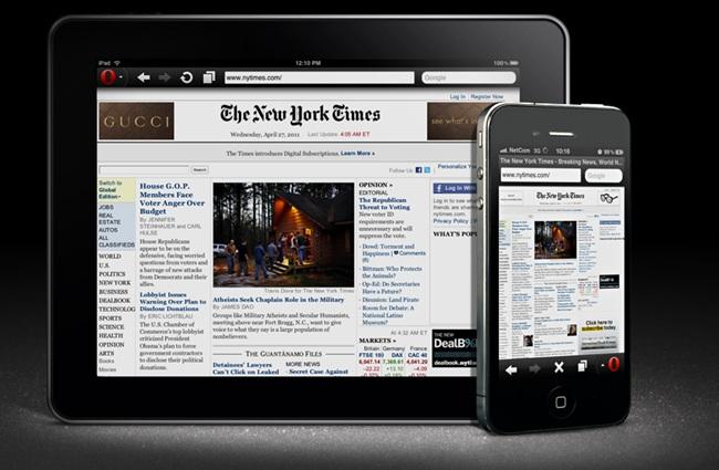 Opera Mini 6 disponibile nell'App Store