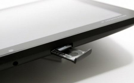 Motorola Xoom, come attivare la scheda micro SD