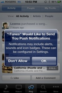 Come personalizzare le notifiche push dell'iPad