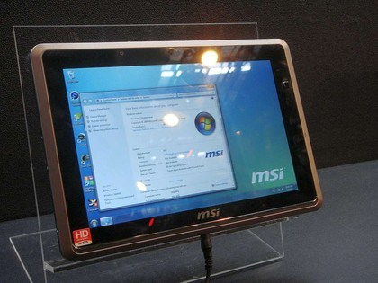 MSI WindPad 120W, nuovo tablet basato su Intel Oak Trail