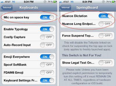 Apple iOS 5.0 con riconoscimento vocale di Nuance e Widget personalizzabili