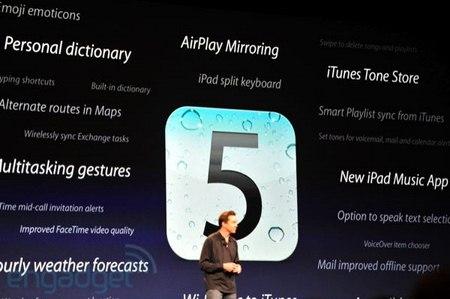 Apple iOS 5.0 Beta2, riepilogo delle novità presenti