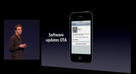 Aggiornamenti OTA presenti nell'Apple iOS 5.0 Beta2